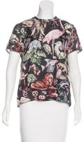 Valentino Fantastic Animal Silk T-Shirt