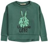 Bobo Choses Organic Cotton Bunny Sweatshirt