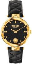Versus By Versace VERSUS WOMEN'S COVENT GARDEN 34MM LEATHER BAND STEEL CASE QUARTZ WATCH SCD0516