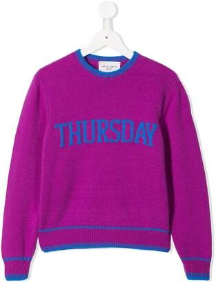 Alberta Ferretti Kids 'Thursday' sweatshirt