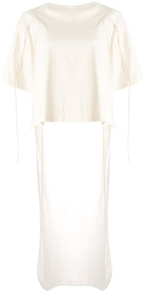 Muller of Yoshio Kubo Long Back Short-Sleeved Top