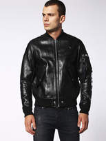 Diesel Leather jackets 0TAMS - Black - L