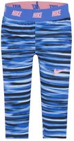 Nike Girls 4-6x Dri-Fit Striped Skinny-Fit Leggings