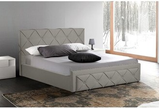 Rosdorf Park Niantic Upholstered Storage Platform Bed Color: Gray, Size: King