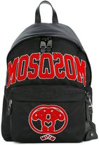 Moschino varsity logo backpack