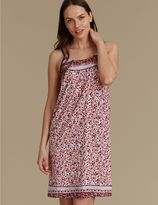 Marks and Spencer Floral Print Chemise