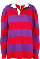Marc Jacobs long-sleeve rugby sweatshirt - women - Cotton/Nylon/Polyester/Tencel - S