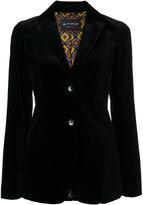 Etro classic blazer - women - Cotton/Spandex/Elastane/Viscose - 42