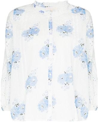 LoveShackFancy Spectra floral-print blouse