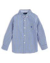 Andy & Evan Boys' Gingham Button Down Shirt - Sizes 2-7