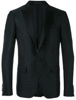 Pal Zileri cross pattern blazer - men - Silk/Polyester/Cupro/Viscose - 46