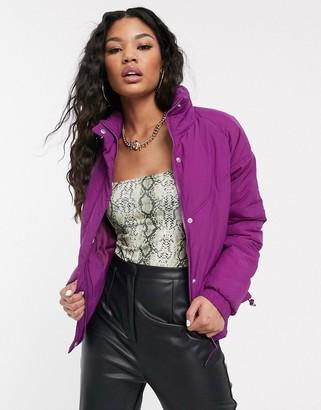 Cotton On Cotton:On puffer jacket in purple