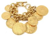 Ben-Amun Moroccan Coin Multi Layer Coin Bracelet