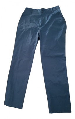 Bensimon Blue Cotton Trousers