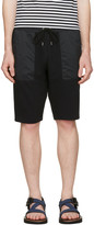 Nanamica Black Sweat Lounge Shorts