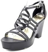 Lauren Ralph Lauren Raegan Women US 7 Black Platform Sandal