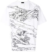 Diesel Black Gold mountain T-shirt