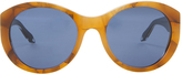 Victoria Beckham Upswept Marble Sunglasses