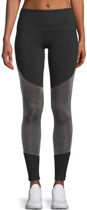 Electric Yoga Mesh-Panel Leggings