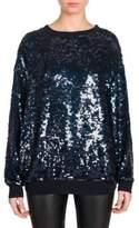 Stella McCartney Silk Sequin Sweatshirt