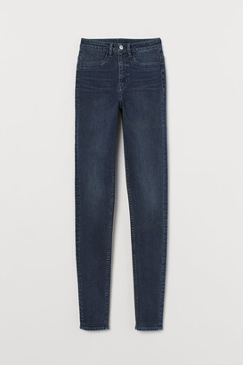 H&M Super Skinny High Jeans - Blue