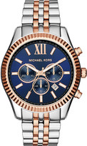 Michael Kors MK8412 lexington stainless steel chronograph watch