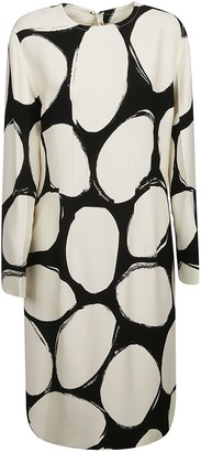 Marni Printed Long Dress