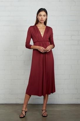 Rachel Pally Long Sleeve Mid-Length Caftan Dress