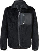 Oamc zip up padded bomber jacket