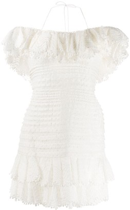 Zimmermann Super Eight corded mini dress