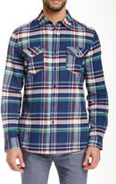 Micros Salem Plaid Long Sleeve Regular Fit Shirt