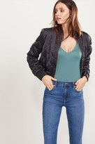 Dynamite Quilted Bomber Jacket