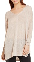 BCBGeneration Semi Sheer V-Neck Sweater