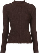 Milly ribbed stand up top