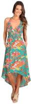 Nanette Lepore Kimono Floral Maxi Dress Women's Swimwear