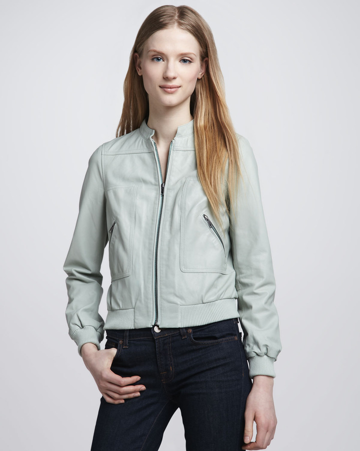 Joie Leather Motorcycle Jacket