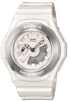 Casio Women's BGA140-7BCR Baby-G Shock Resistant Analog Digital Watch