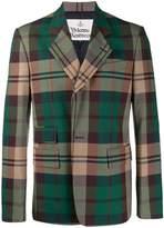 Vivienne Westwood checked blazer