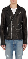 RtA Men's Calfskin Moto Jacket-BLACK