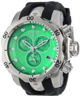 Invicta Men's 6105 Venom Reserve Chronograph Dial Black Polyurethane Watch