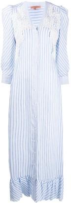 Ermanno Scervino Crochet Shirt Dress
