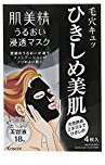 Kanebo HADABISEI Kracie Mineral Facial Mask, 4.23 Fluid Ounce