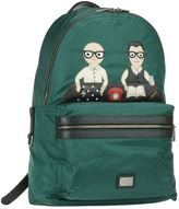 Dolce & Gabbana Designers Detail Volcano Backpack