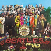 Baker & Taylor The Beatles, Sgt. Pepper's Lonely Hearts Club Band Vinyl Record