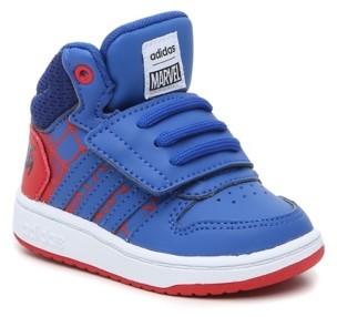 adidas Spider-Man Hoops Mid 2 High-Top Sneaker - Kids'