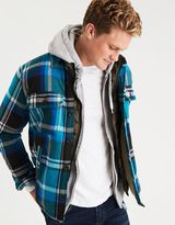 American Eagle Outfitters AE Lined Flannel Shirt Jacket
