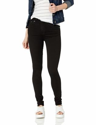 Nudie Jeans Women's Hightop Tilde Raven Black 25/32