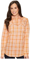 Wrangler Long Sleeve Plaid Western Shirt Women's Clothing
