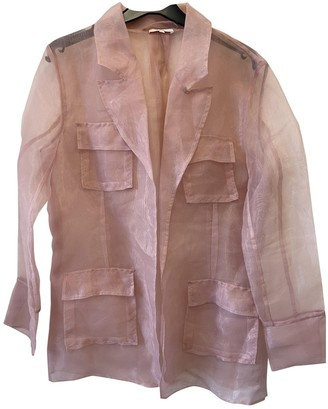 Aeryne Pink Jacket for Women