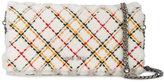 Miu Miu Checked Stitch Shearling Clutch Bag